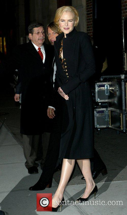 Nicole Kidman and David Letterman 1