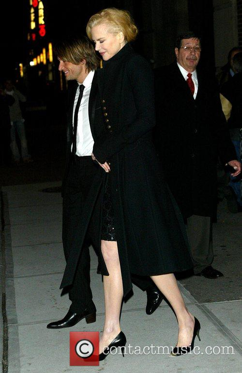 Nicole Kidman and David Letterman 2