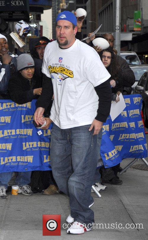 Ben Roethlisberger and David Letterman 7