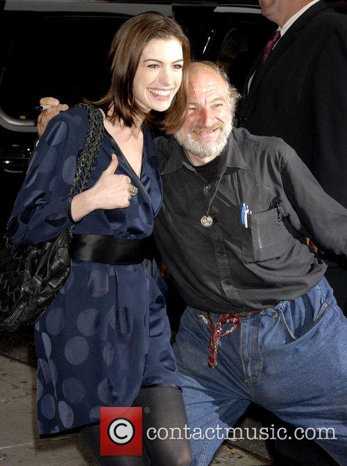 Anne Hathaway and David Letterman 20