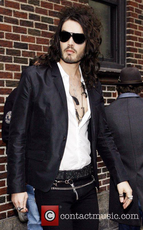 Russell Brand, David Letterman and The Late Show With David Letterman 8