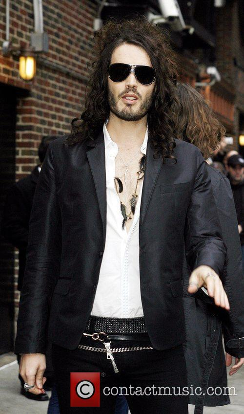 Russell Brand, David Letterman and The Late Show With David Letterman 1