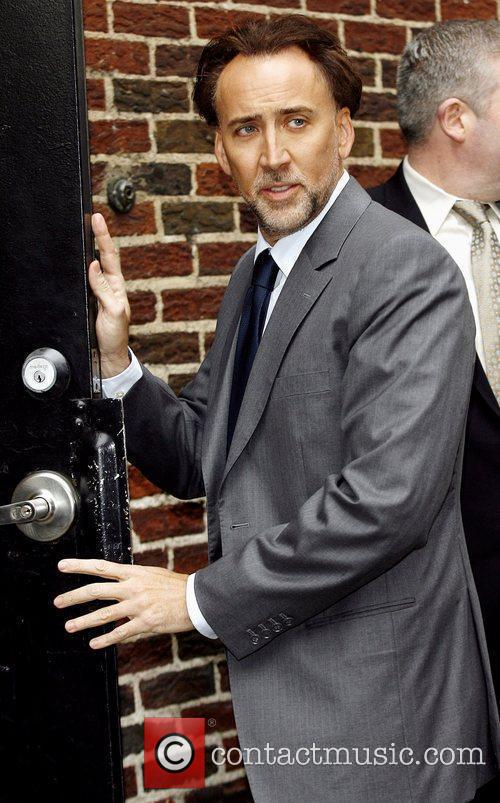 Nicolas Cage, David Letterman and The Late Show With David Letterman 5