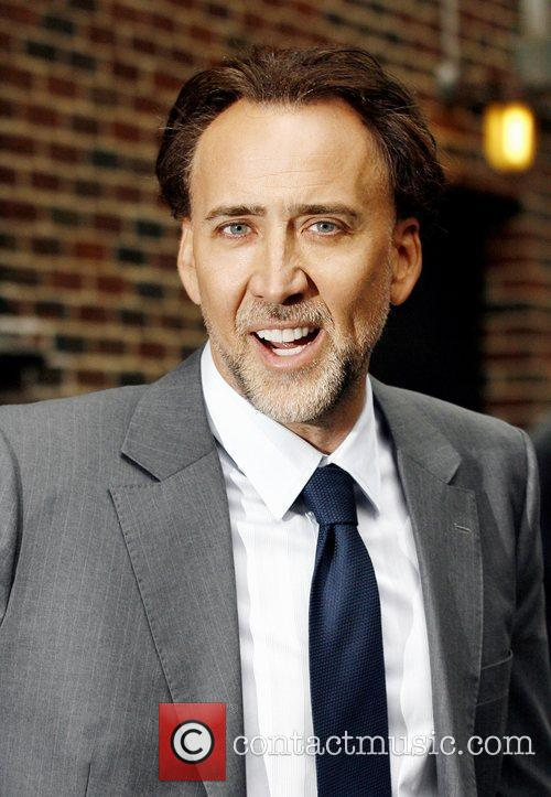 Nicolas Cage, David Letterman and The Late Show With David Letterman 9