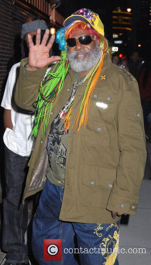 George Clinton and David Letterman 1