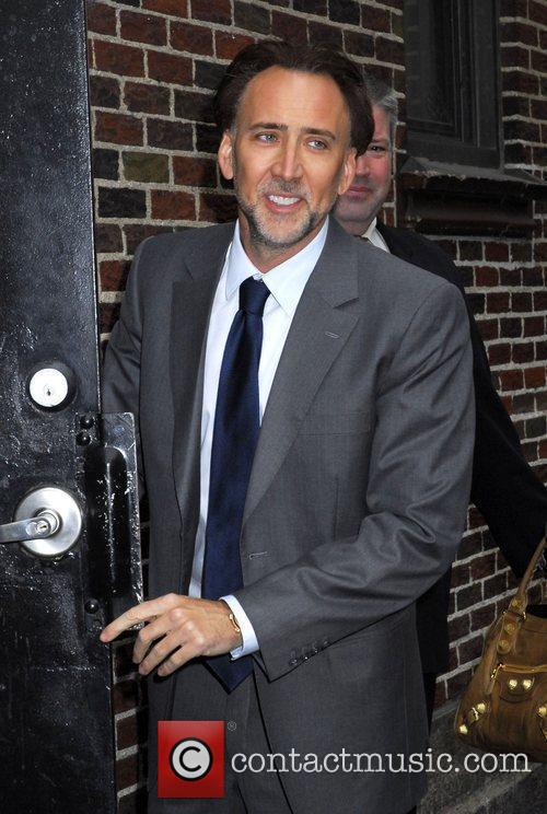 Nicolas Cage, David Letterman and The Late Show With David Letterman 22