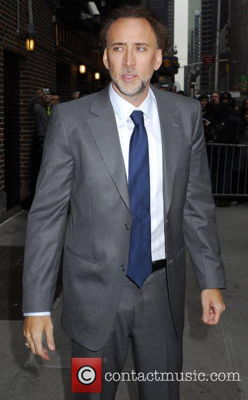 Nicolas Cage, David Letterman and The Late Show With David Letterman 18