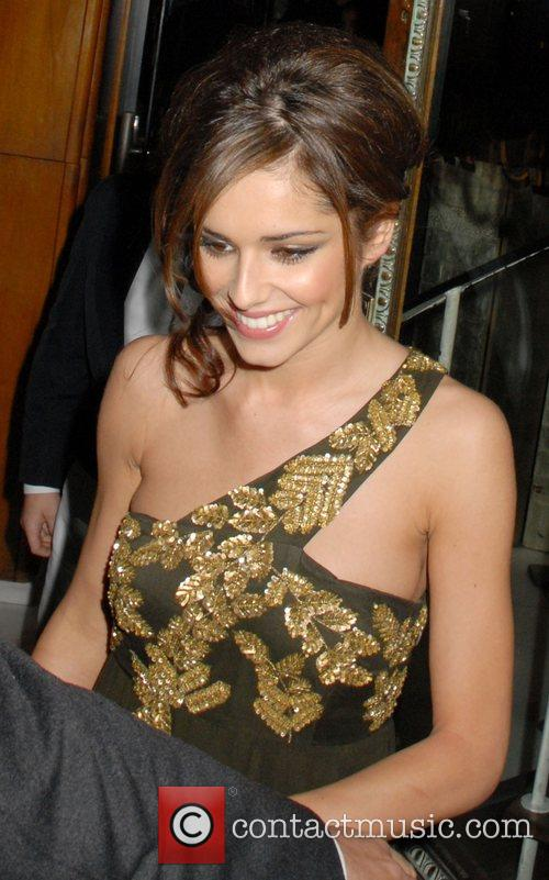 Cheryl Cole leaving Mr Chows Restaurant in Knightsbridge....