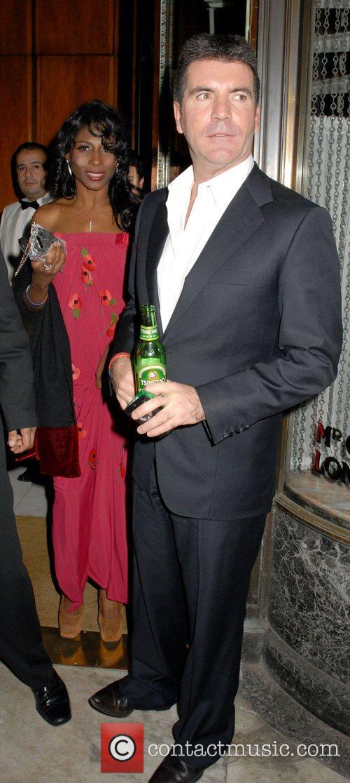 Sinitta and Simon Cowell 1