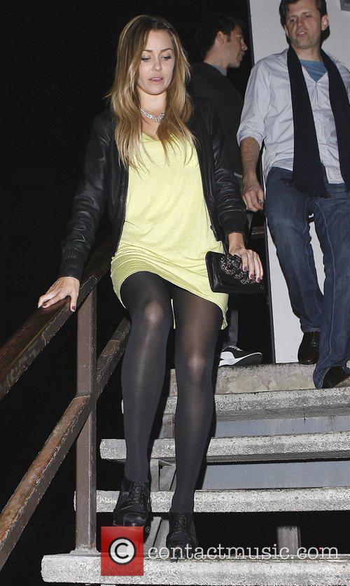Lauren Conrad leaves My House nightclub Los Angeles,...