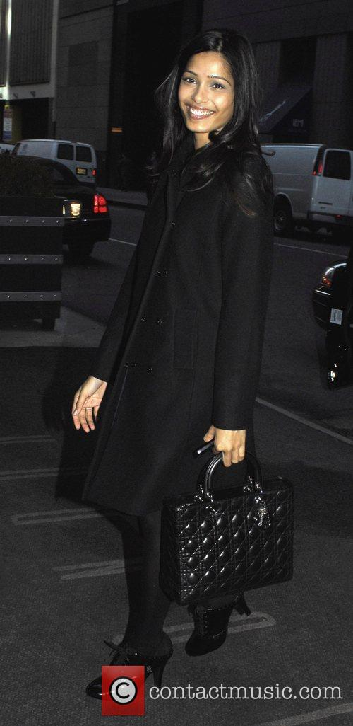 Out and about in New York.
