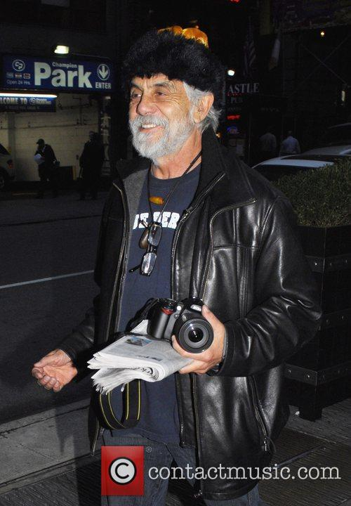 Tommy Chong out and about in New York....