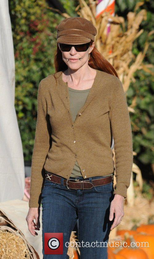 Marcia Cross at Pumpkin Patch in West Hollywood....