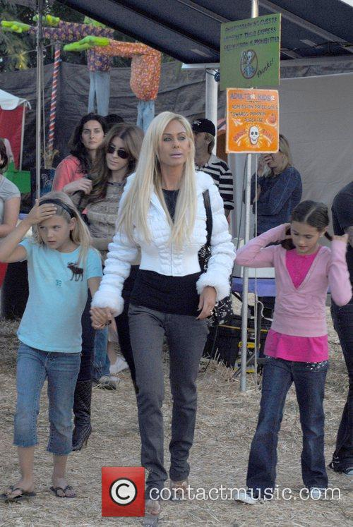 Shauna Sands at Pumpkin Patch in West Hollywood...