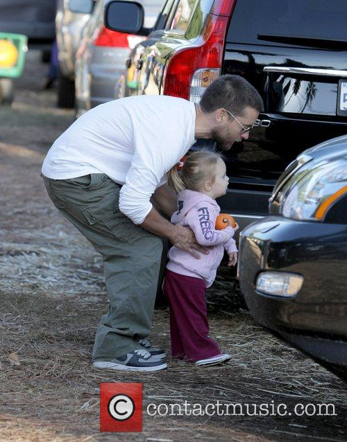 Tobey Maguire at Pumpkin Patch in West Hollywood