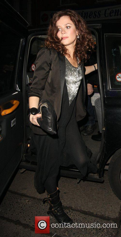 Anna Friel arriving at O2 Shepherds Bush Empire...