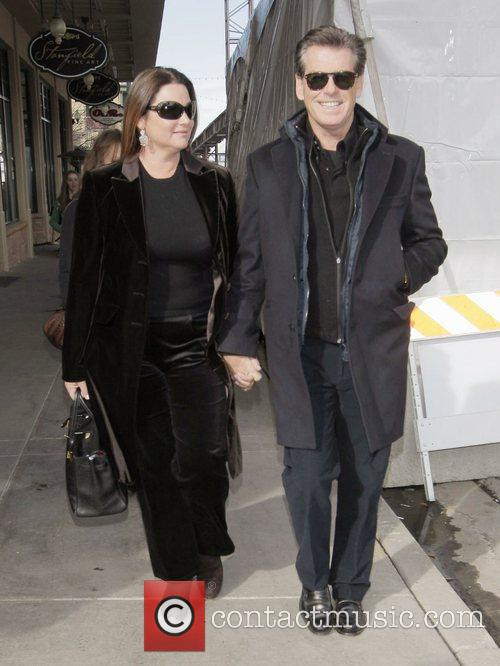 Pierce Brosnan and His Wife Keely Shaye Smith 2