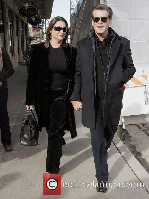 Pierce Brosnan and His Wife Keely Shaye Smith 1