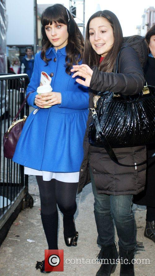 Zooey Deschanel,  out and about during the...
