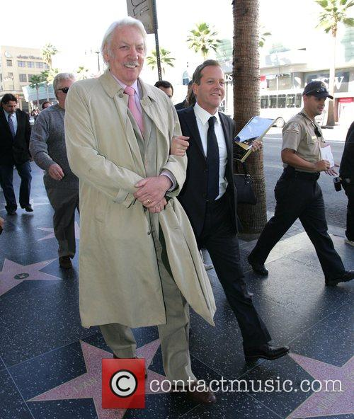 Donald Sutherland and Kiefer Sutherland Celebrities join Keifer...