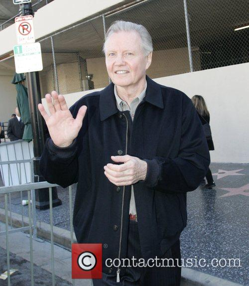 Jon Voight joins Keifer Sutherland as he receives...