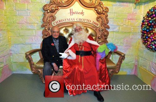 George Clooney was recently pictured with Santa Claus...