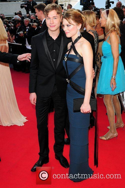 David Kross and Lea Seydoux 1