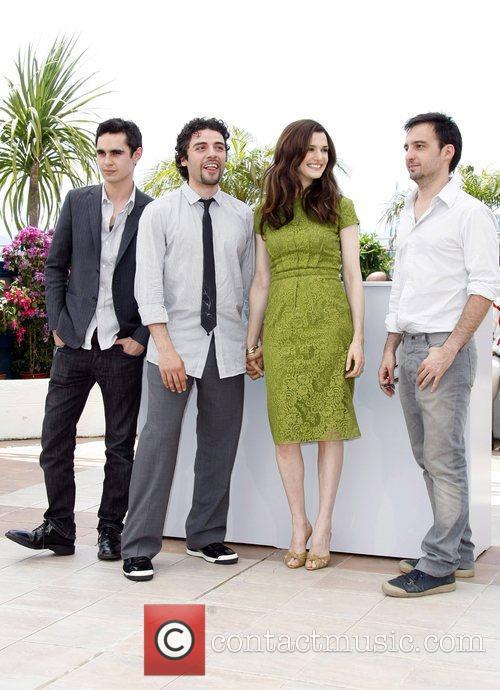 Max Minghella, Oscar Isaac, Rachel Weisz, and Alejandro...