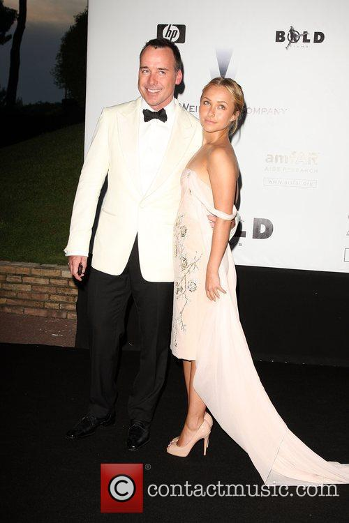 Hayden Panettiere and David Furnish 4