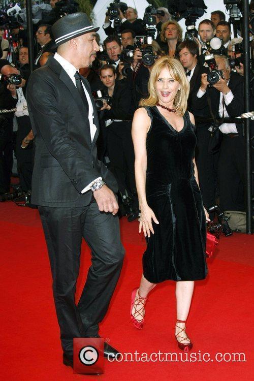 Rosanna Arquette and guest 2009 Cannes International Film...