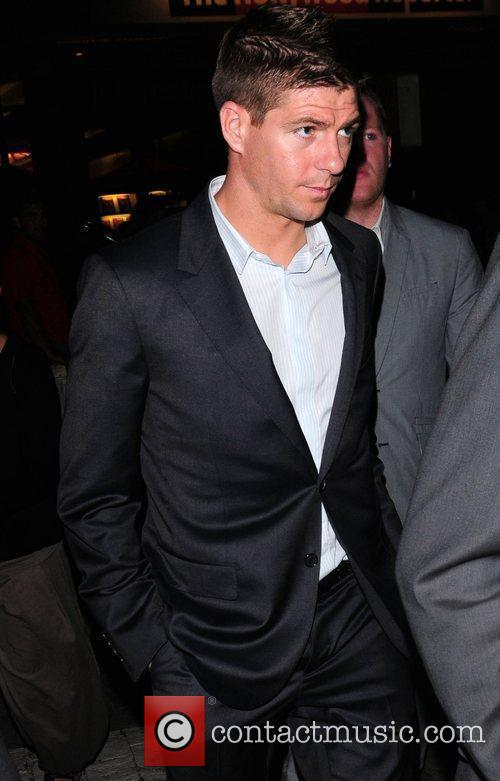 Footballer Steven Gerrard 2