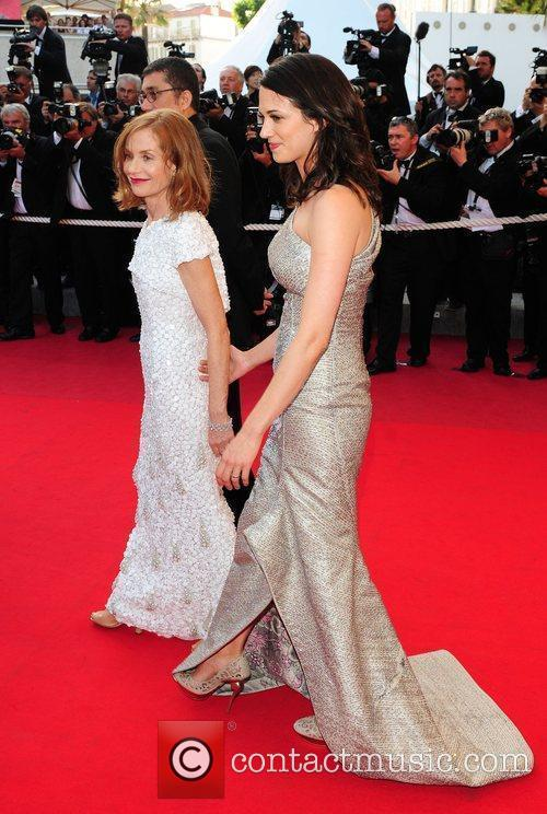 Asia Argento and Isabelle Huppert 2