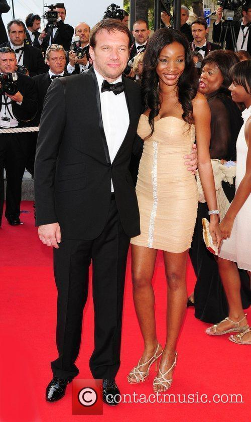 Samuel Le Bihan and Daniela Le Bihan...