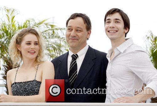 Alison Lohman, Sam Raimi and Justin Long 3
