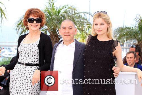 Fanny Ardant, Laetitia Casta and Ming-liang Tsai