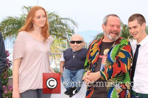 Lily Cole, Terry Gilliam and Verne Troyer 11