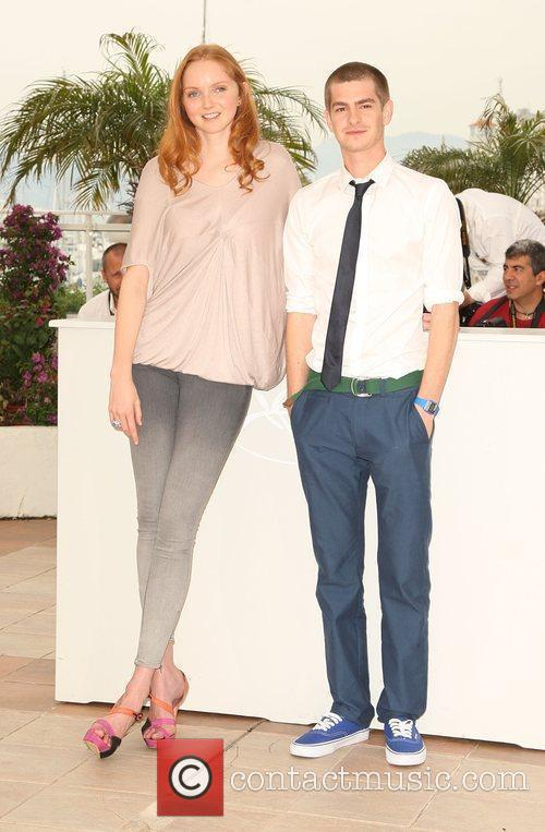 Lily Cole and Andrew Garfield 1