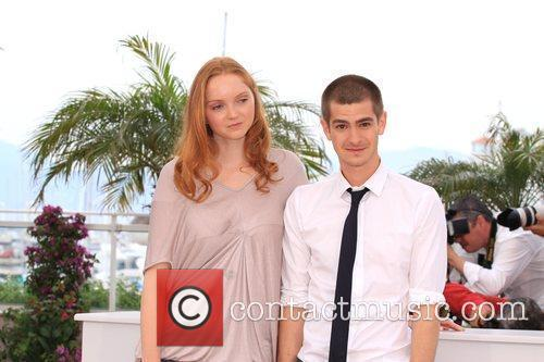 Lily Cole and Andrew Garfield 2009 Cannes International...