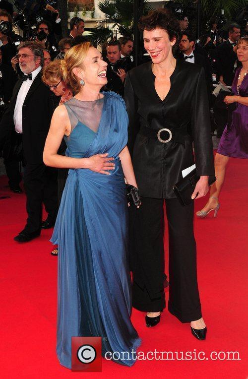 Sandrine Bonnaire and guest 2009 Cannes International Film...