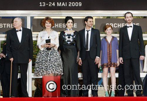 Fanny Ardant and The Cast Of 'hommage To Fanny Ardent' 6
