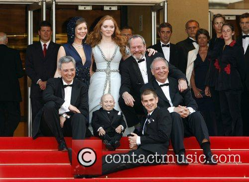 Verne Troyer, Lily Cole and Terry Gilliam 3