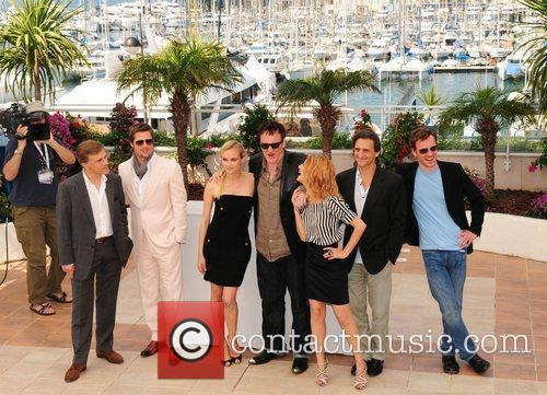 Brad Pitt, Diane Kruger and Quentin Tarantino 3