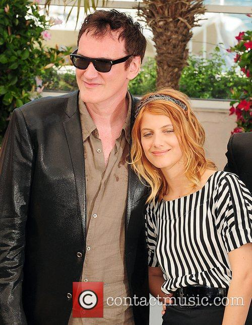 Quentin Tarantino and Melanie Laurent 2