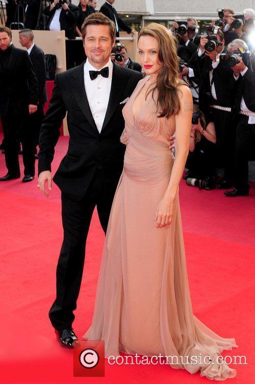 Brad Pitt and Angelina Jolie 2009 Cannes International...