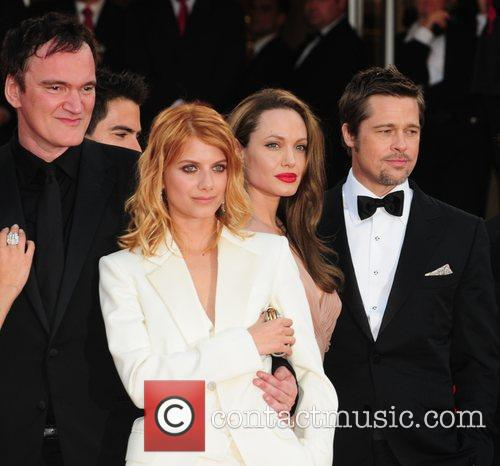Quentin Tarantino, Angelina Jolie and Melanie Laurent 3