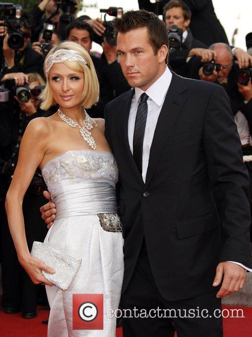 Paris Hilton and Doug Reinhardt 2009 Cannes International...