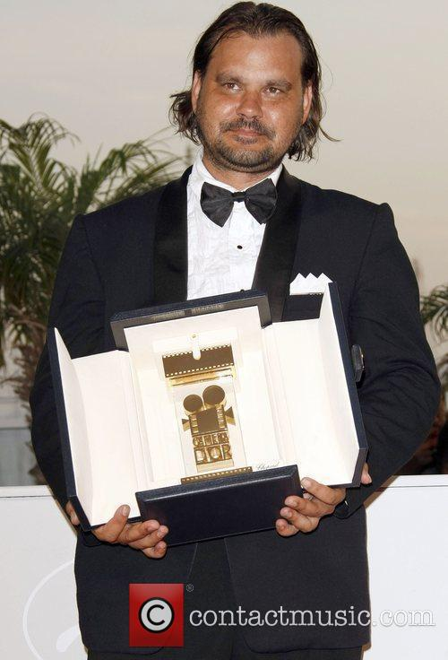 Director Warwick Thornton With His Camera D'or Award 1