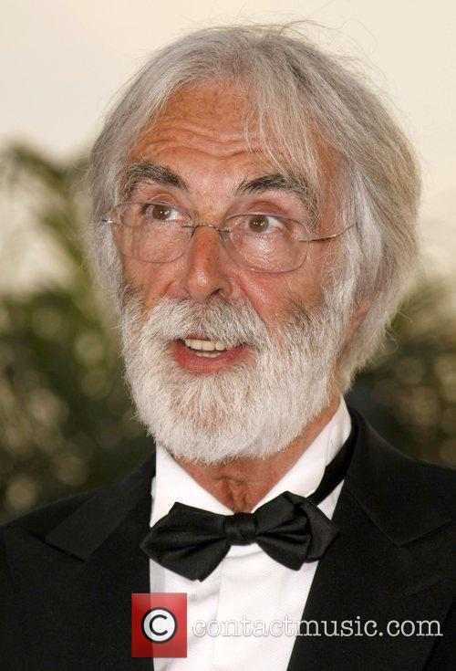 Director Michael Haneke With The Palme D'or 3