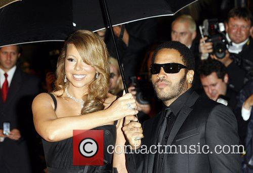 Mariah Carey and Lenny Kravitz 9