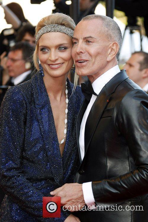 Sarah Marshall and Jean-Claude Jitrois  2009 Cannes...